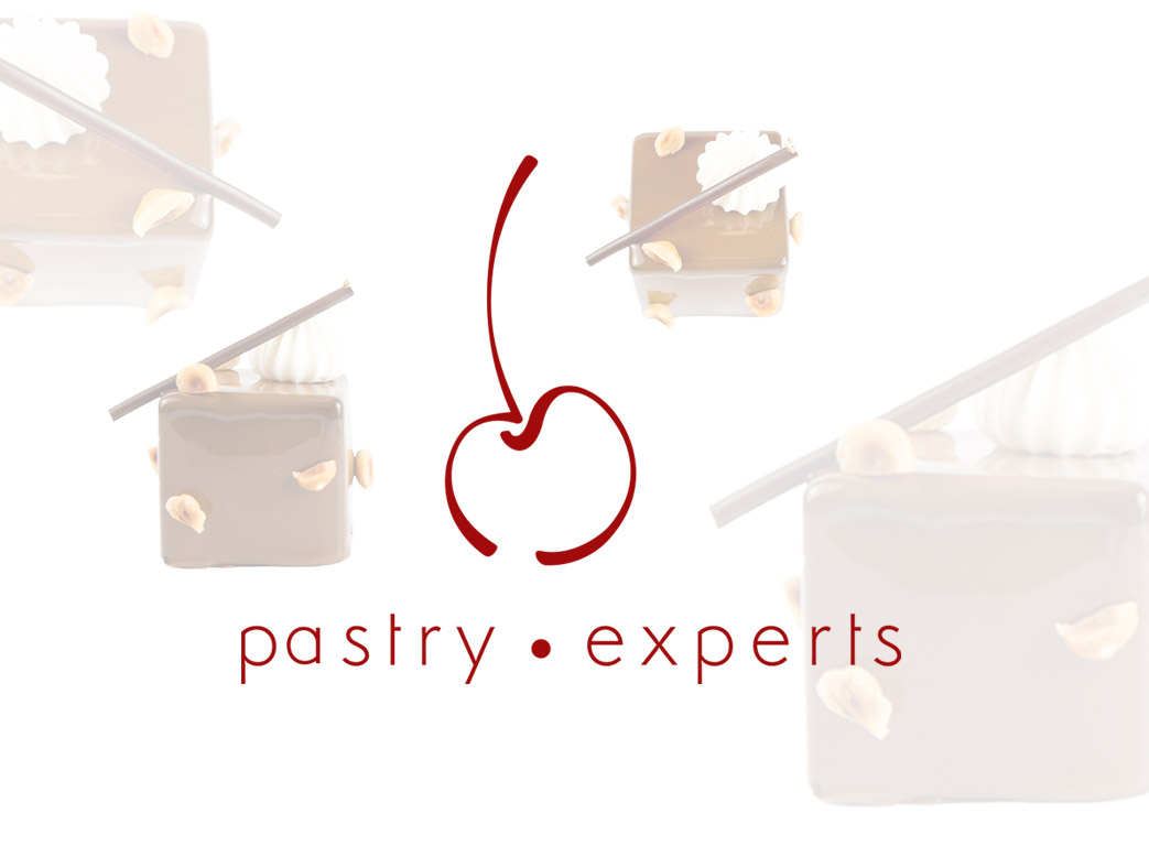 Pastry Experts logo fond blanc texture