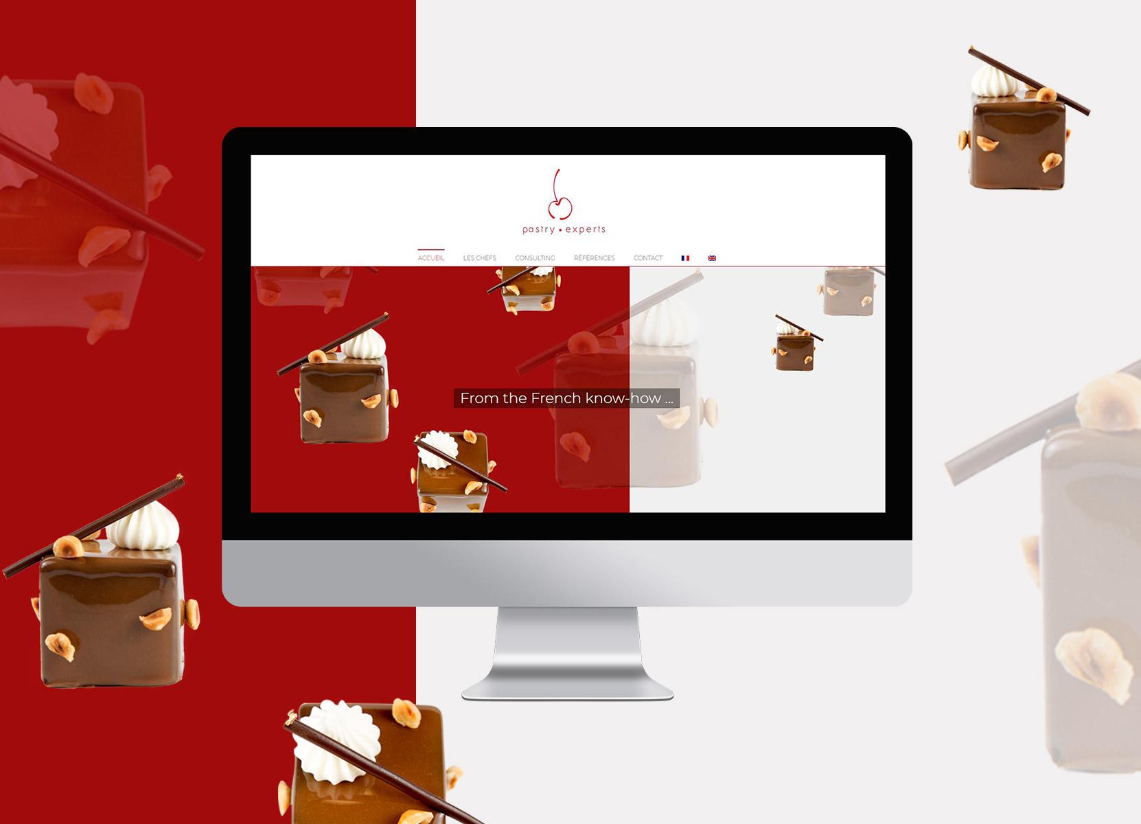 Pastry Experts présentation site 1