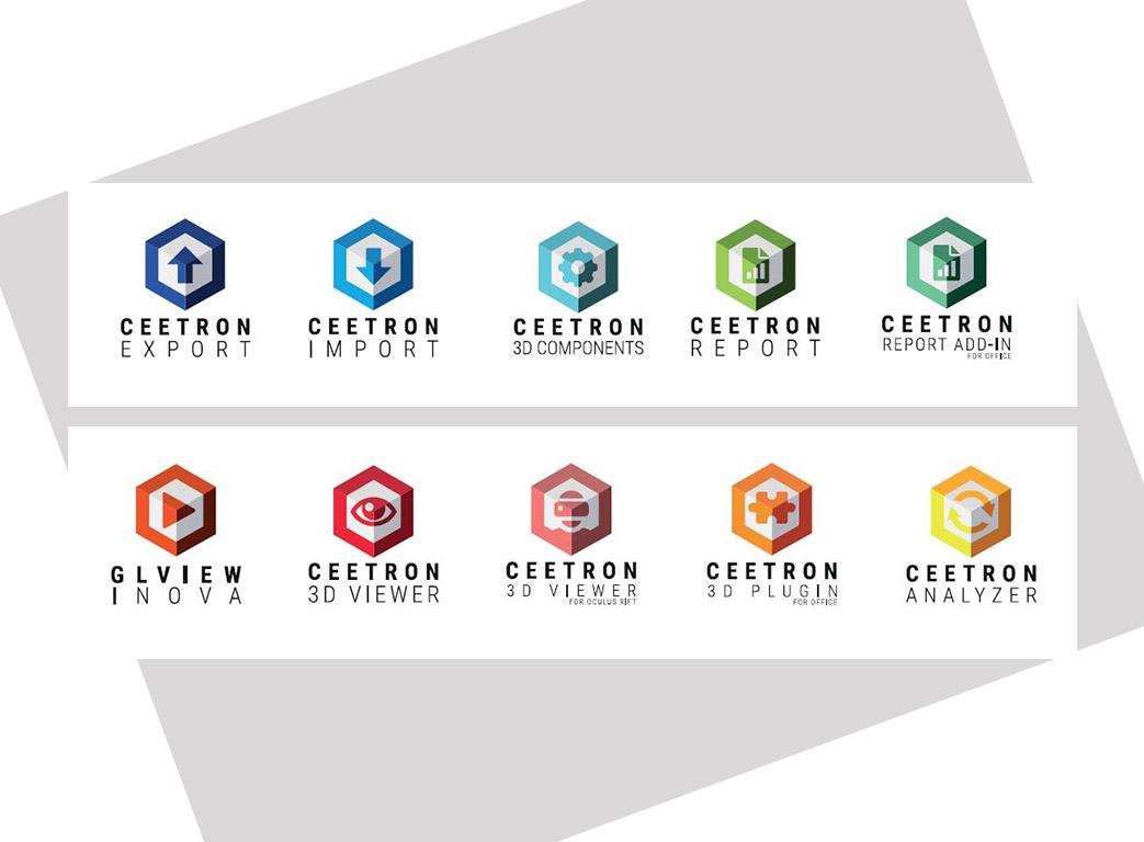 Ceetron logos