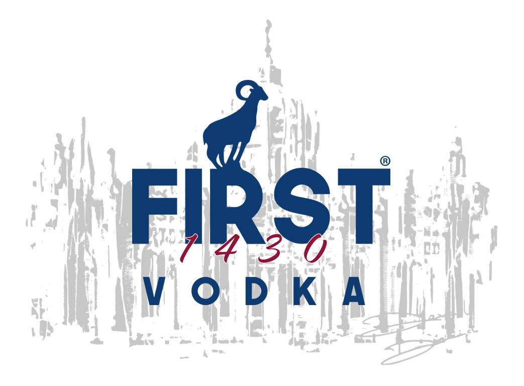 First Vodka logo 2