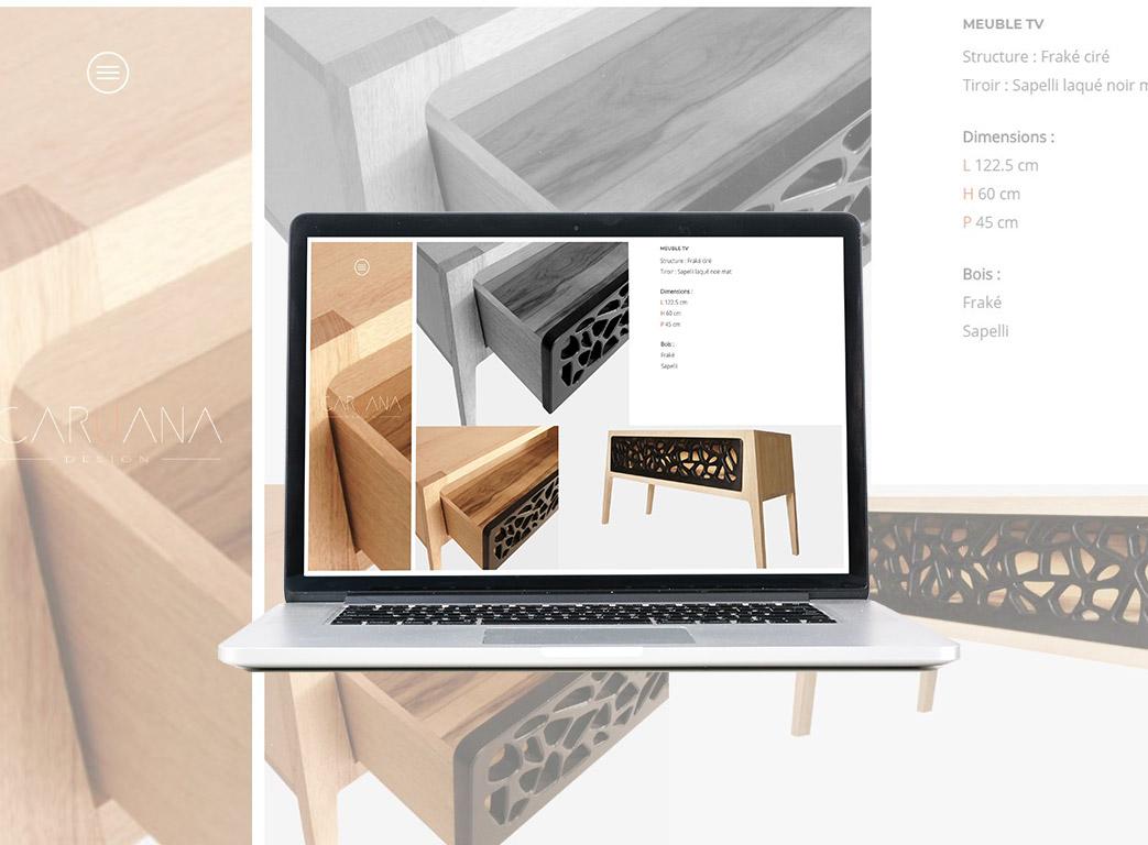 Caruana site web montage