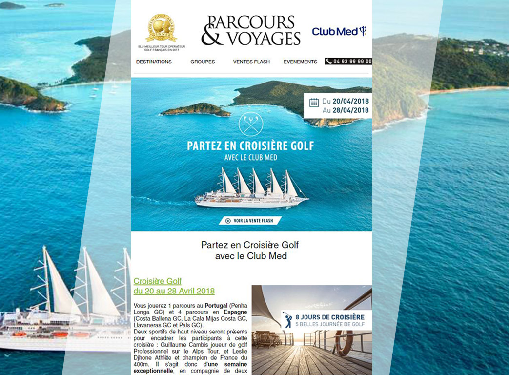 Parcours voyage newsletter 2