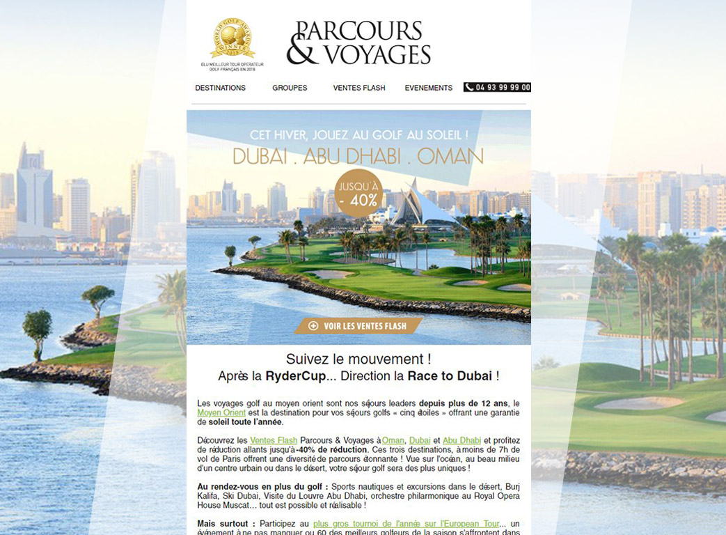 Parcours voyage newsletter 4