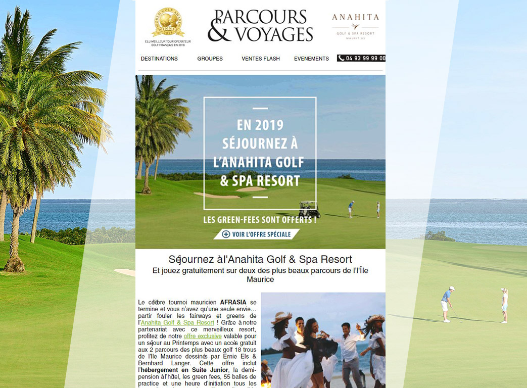 Parcours voyage newsletter 5