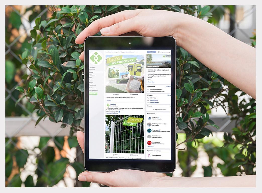 Districlos facebook tablette 3