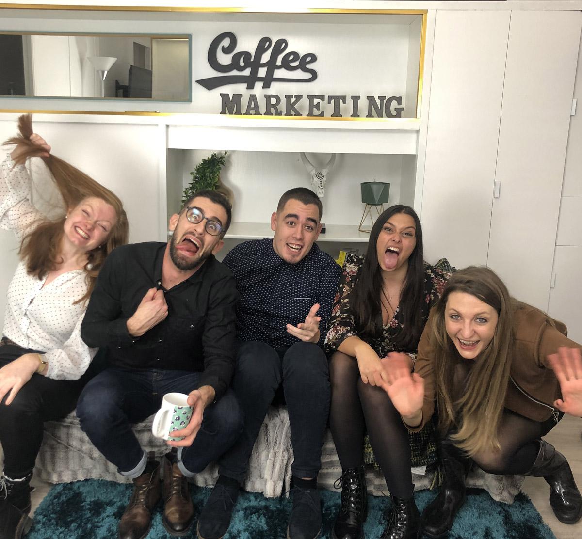 Team Coffee apres 2