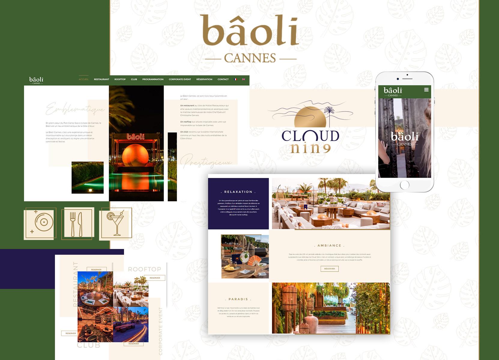 réalisation site web baoli