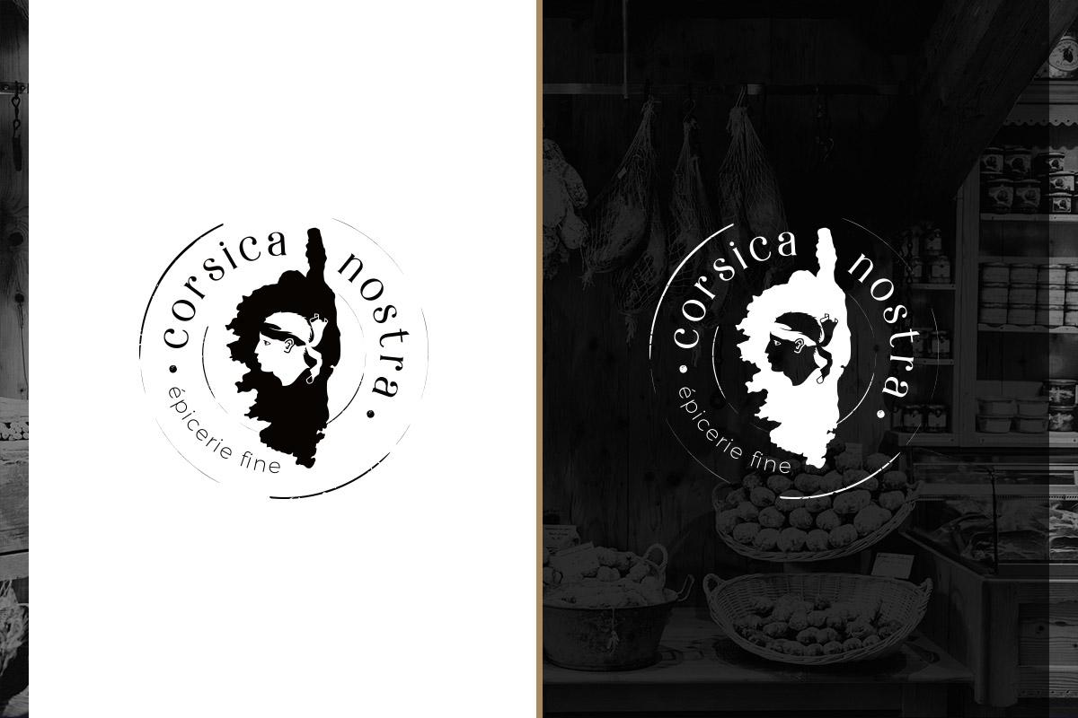 création du logo Corsica Nostra